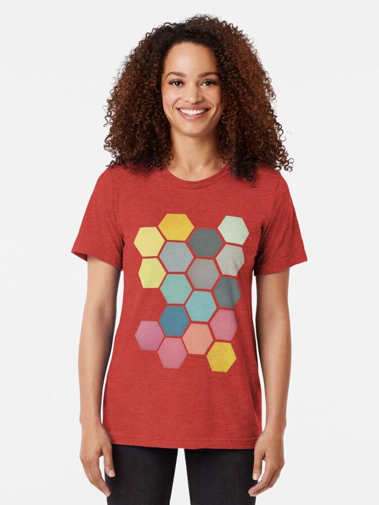 Alternative Ansicht von Honigwabe II Vintage T-Shirt