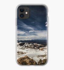 Looking around Mt Evans iPhone Case