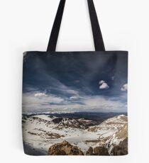 Looking around Mt Evans Tote Bag