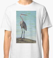 Heron at Stump Pass (Florida, USA) Classic T-Shirt