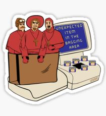 Unexpected Item - Light shirts Sticker