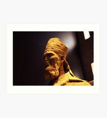 monument figure Art Print
