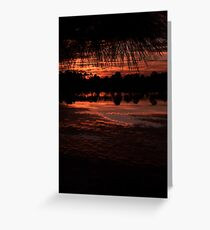 Sweet Darkness Greeting Card