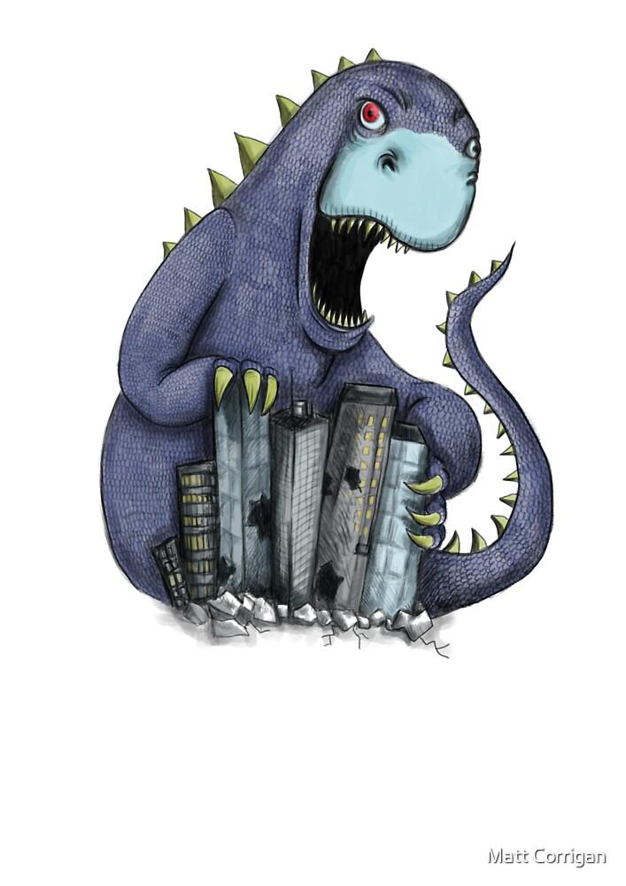 Dinosaur attack! by Extreme-Fantasy