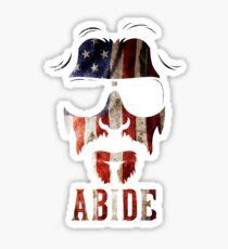abide  Sticker