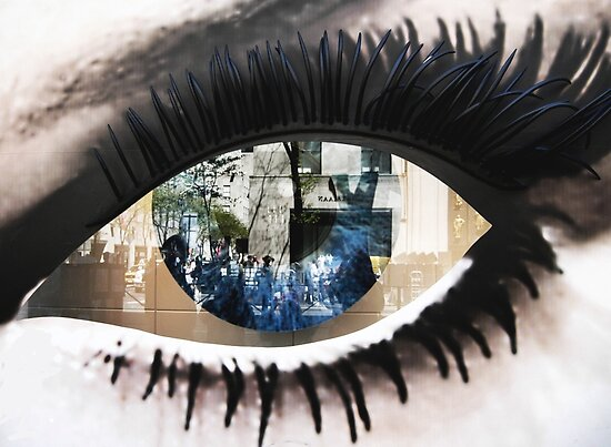Quot Eye With New York City Reflection Quot Posters By Kim Mcclain