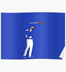 Joey Bat Flip Poster