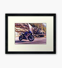 Waterall Suzuki Framed Print