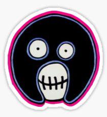 Boosh Skull - Electro  Sticker