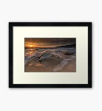 Sunset - Donegal Framed Print