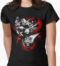 Amano Chaos Fantasy Women's Fitted T-Shirt