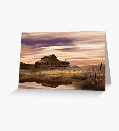 Black Sage Dawn Greeting Card
