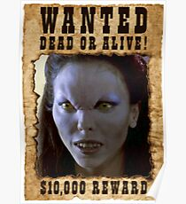 Buffy Drusilla Wanted 1 Poster