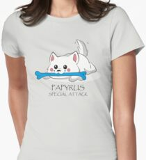 Undertale - Papyrus's special attack Women's Fitted T-Shirt