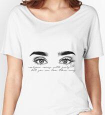 Camiseta ancha para mujer Lauren Jauregui 7/27