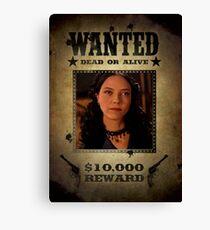 Buffy Drusilla Wanted 2 Canvas Print