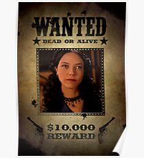 Buffy Drusilla Wanted 2 Poster