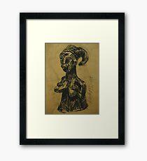 African bust #2 Framed Print