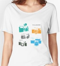 Vintage Cameras - The 35mm Rangefinder Women's Relaxed Fit T-Shirt
