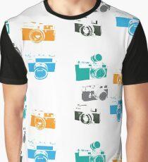 Vintage Cameras - The 35mm Rangefinder Graphic T-Shirt
