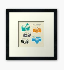 Vintage Cameras - The 35mm Rangefinder Framed Print