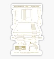 Entertainment System Sticker