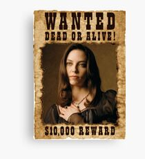 Buffy Drusilla Wanted 3 Canvas Print