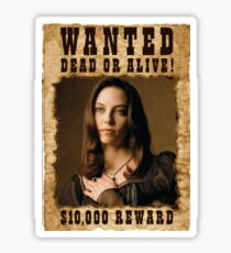 Buffy Drusilla Wanted 3 Sticker
