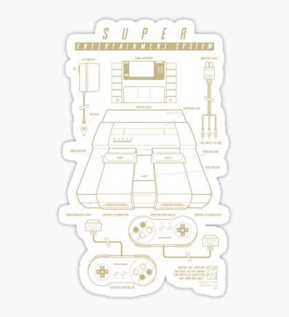 Super Entertainment System  Sticker
