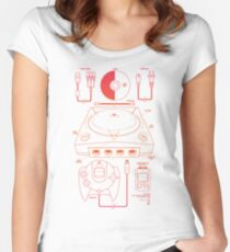 The Dream Machine Women's Fitted Scoop T-Shirt