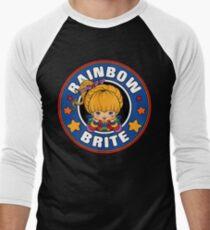 057cbaad659 Rainbow Brite Men s Baseball ¾ T-Shirt