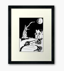 Death House Framed Print