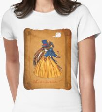 Wanted Beauty and the Beast Women's Fitted T-Shirt