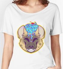 Cupcake Spotted Hyena Women's Relaxed Fit T-Shirt