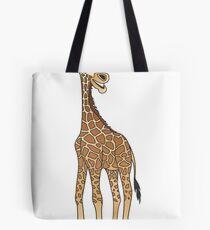 Cartoon Giraffe Tote Bag