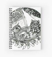 The Owl & the Pussycat Spiral Notebook