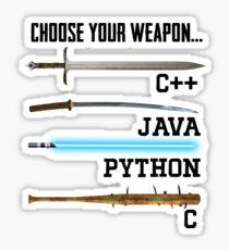 Programmer Sticker