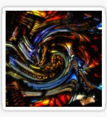HB0005 Colorful Abstract. Sticker