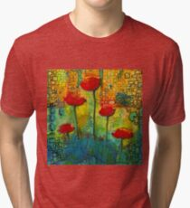 Flowers for My Son - March 2016 Tri-blend T-Shirt