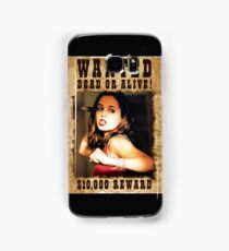 Buffy Faith Wanted Eliza Dushku 3 Samsung Galaxy Case/Skin