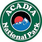 ACADIA NATIONAL PARK MAINE MOUNTAINS HIKING CAMPING HIKE CAMP  by MyHandmadeSigns