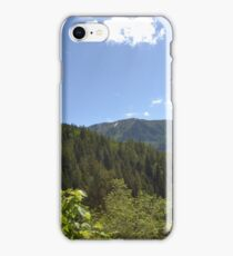 Rugged mountains iPhone Case/Skin