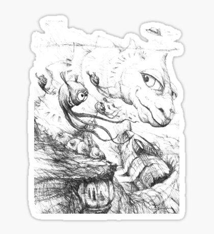 Sea Creature Sticker