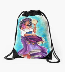 Esmeralda Drawstring Bag