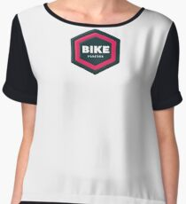 Bike Forever Chiffon Top