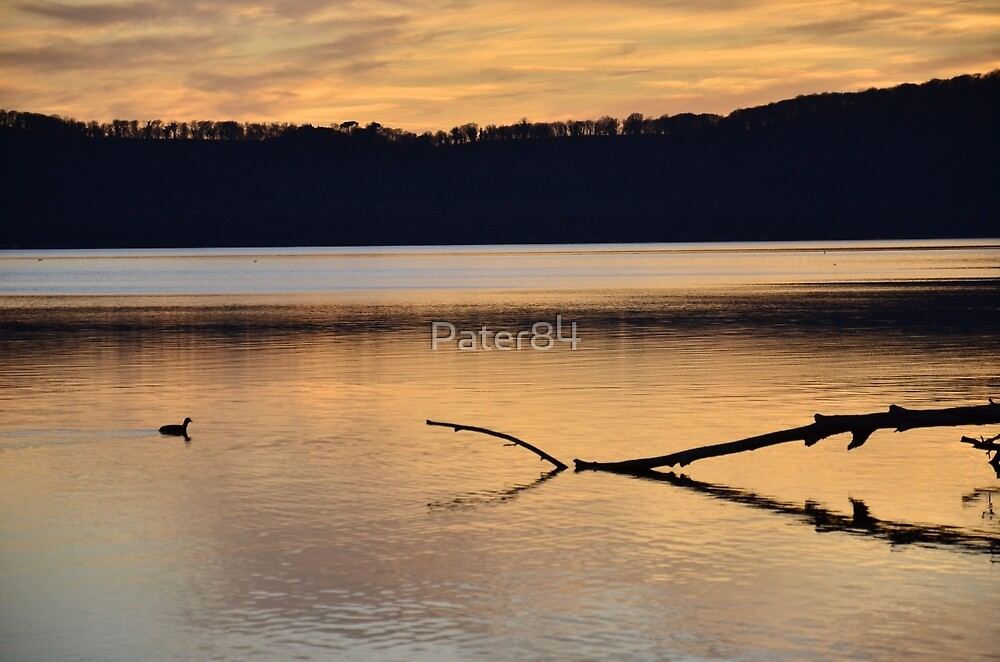 Lake Sunset by Pater84