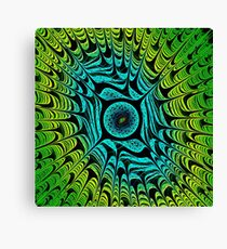 Green Dragon Eye Canvas Print