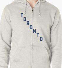 Toronto Zipped Hoodie