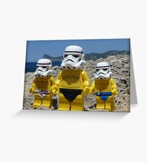 Stormtroopers Holiday 2 Greeting Card