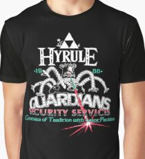 Zelda Breath of the Wild Hyrule Guardians Graphic T-Shirt